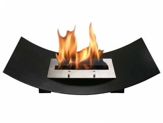 Bio-cheminée VENIZ Noir